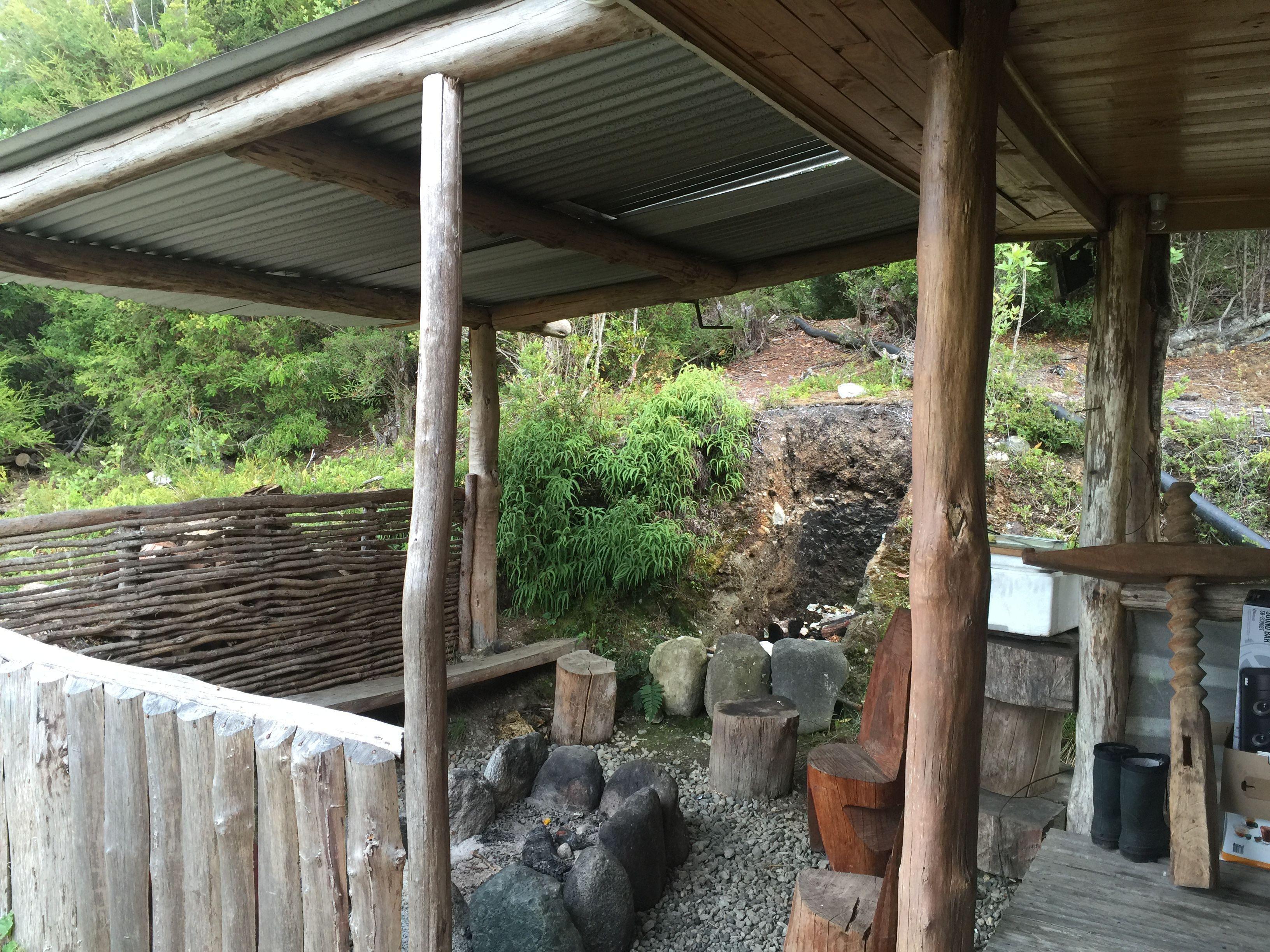 The Main Cabin On The Island Isla San Pedro Chile Sirena De  # Muebles Pudu Ancud