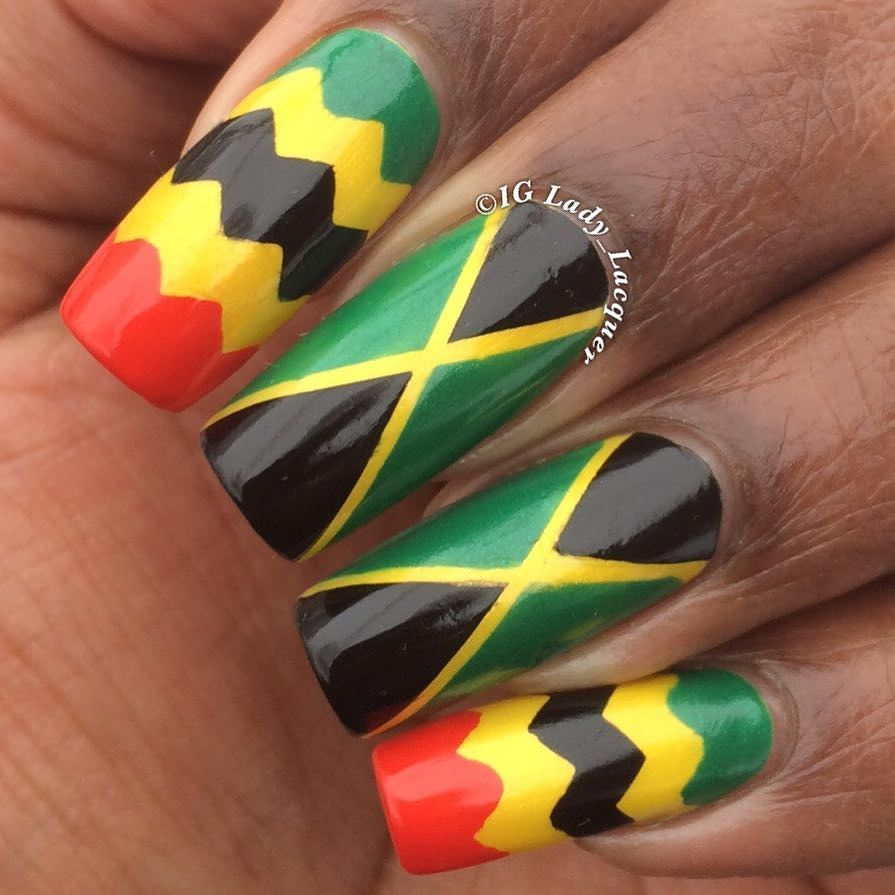 Happy Jamaica Day! One Love #JamaicaDay by lady_lacquer | Jamaica ...