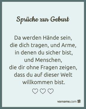 Schöne Sprüche Zur Geburt Babies True Words And Thoughts