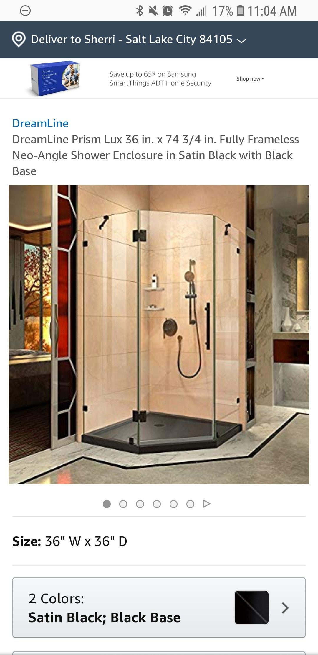 Pin By Sherri B On A Bathroom Neo Angle Shower Enclosures