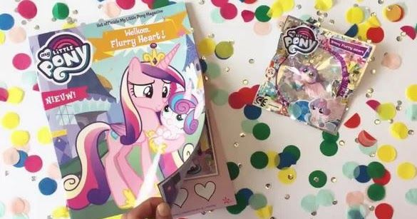 my little pony merch news mlp magazine figures now available in the