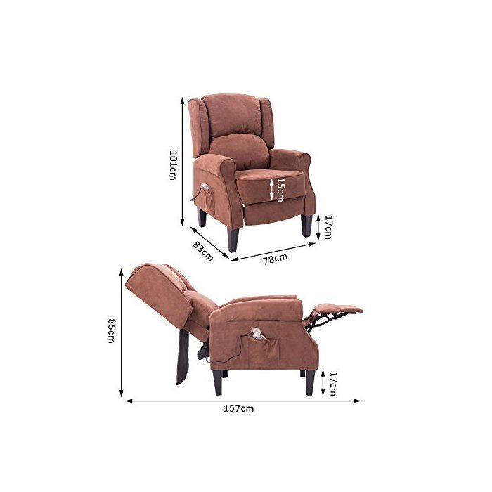 Amazing Vanvalkenburg Manual Recliner In 2019 Small Recliner Bralicious Painted Fabric Chair Ideas Braliciousco