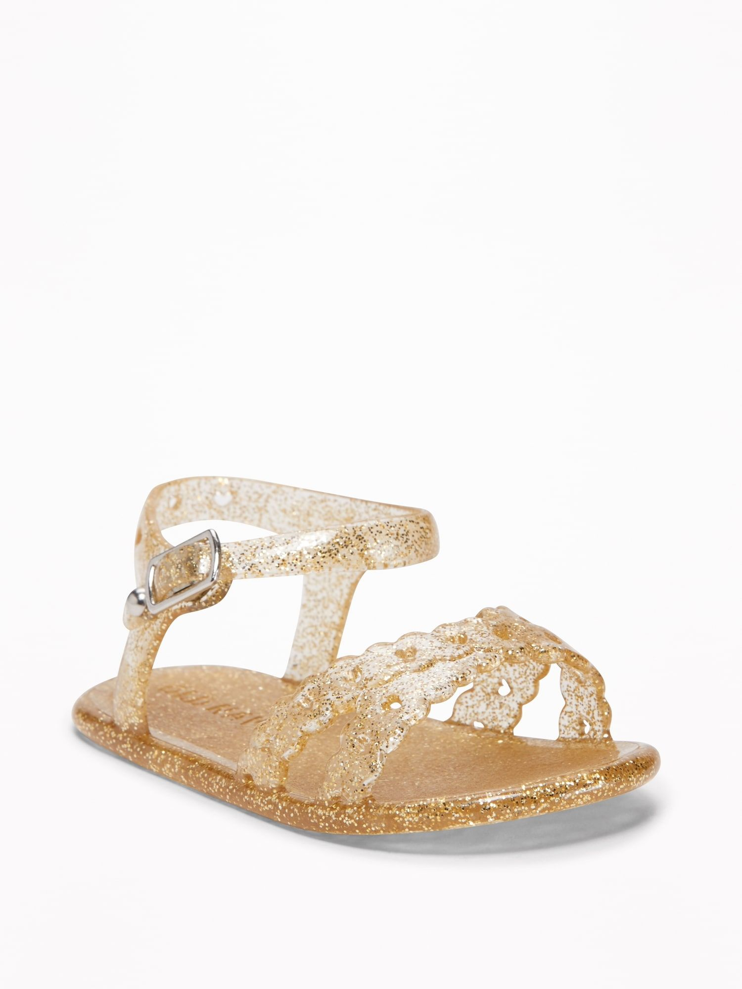 badc6edd185d Cross-Strap Jelly Sandals for Baby