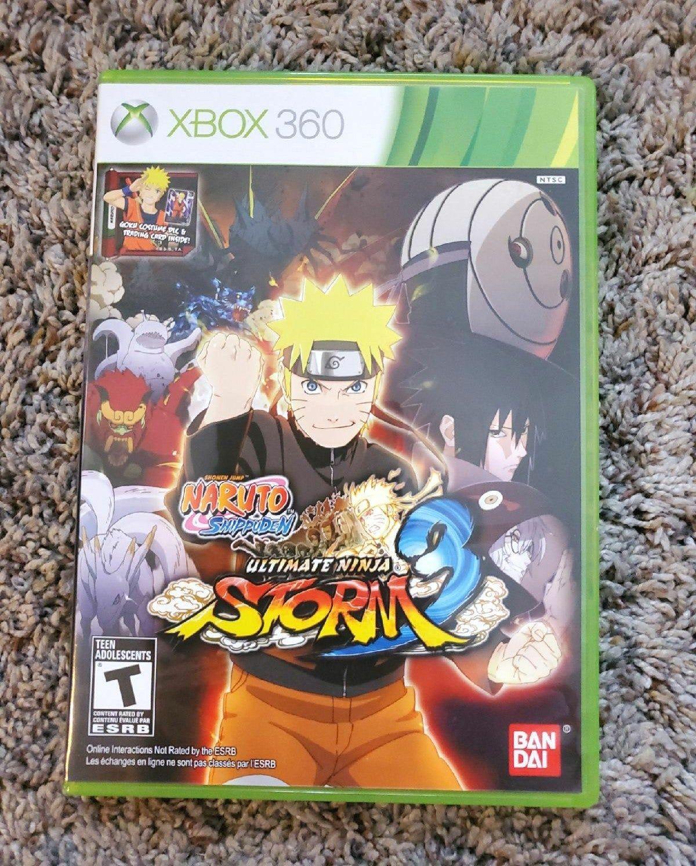 Naruto Ultimate Ninja Storn 3 Naruto Xbox 360 Games Xbox 360
