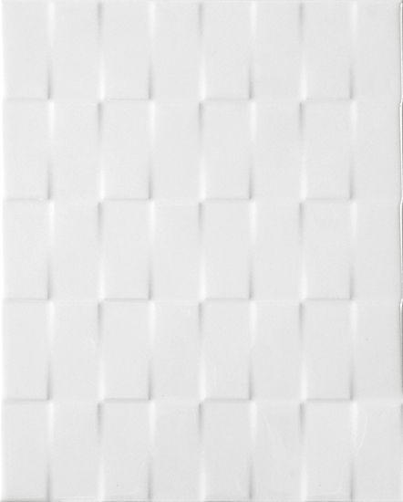 Master Shower Wall Tile Twill White 20cm X 25cm 8 10 Qt Wv Wht 0810