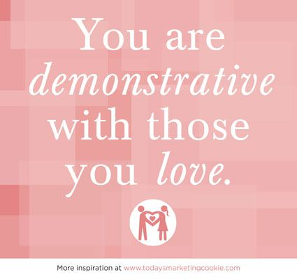 Image result for demonstrative love affirmation pic