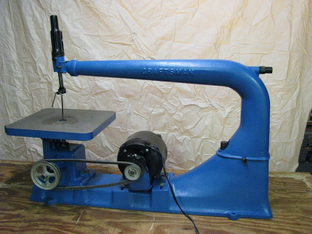 """24"""" Craftsman scroll saw, manufactured by Atlas"""