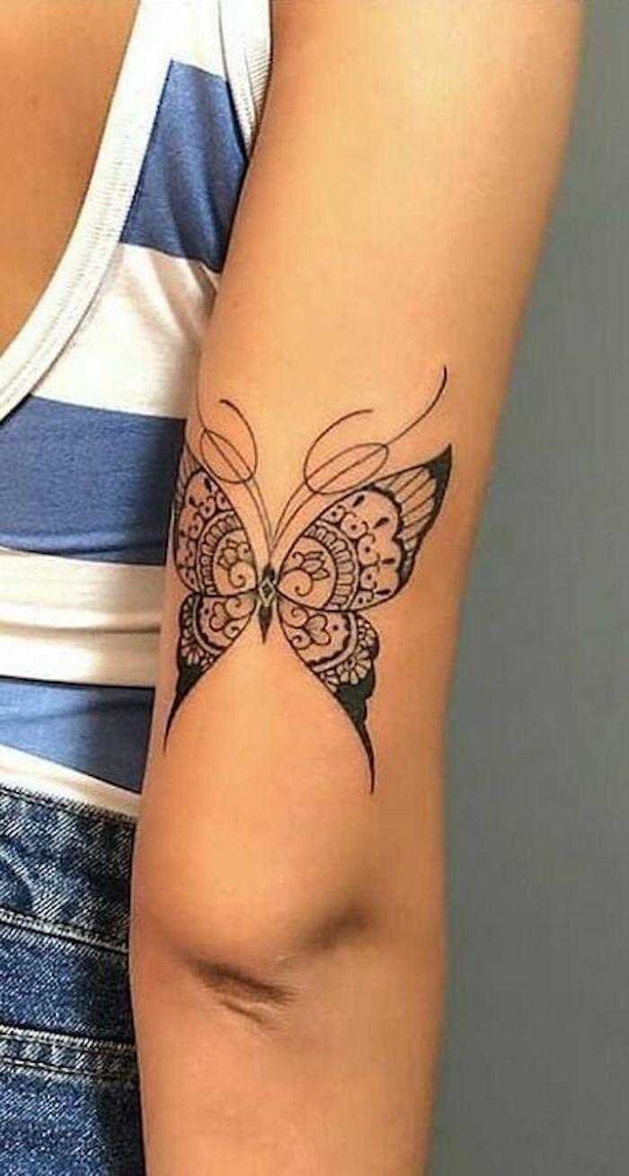 As 29 Melhores ideias de tatuagens de Borboletas #borboletas #ideias #tatuagens #tattoo