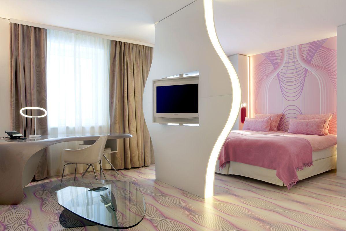 Nhow h tel design berlin d co decorazione camera for Berlino hotel design