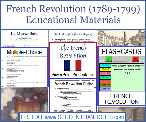 french revolution free outline powerpoint worksheets study games and more for high school. Black Bedroom Furniture Sets. Home Design Ideas