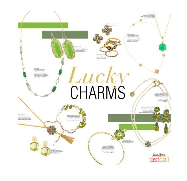 """Lucky Charms"" by lastcall on Polyvore featuring Freida Rothman, Lydell NYC, Ippolita, Jose & Maria Barrera, Fragments, Alexis Bittar and Kendra Scott"