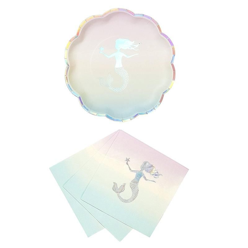 Talking Tables We Heart Mermaids Party Bundle For Theme Birthdays