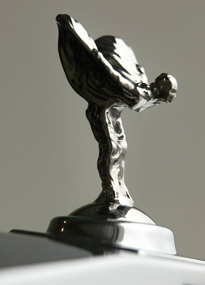 Rolls-Royce Phantom (2004) - Spirit of Ecstasy Hood Ornament. http://www.carstyling.ru/en/tag/art+deco/..Re-pin..Brought to you by #HouseofInsurance #InsuranceAgency in Eugene OR