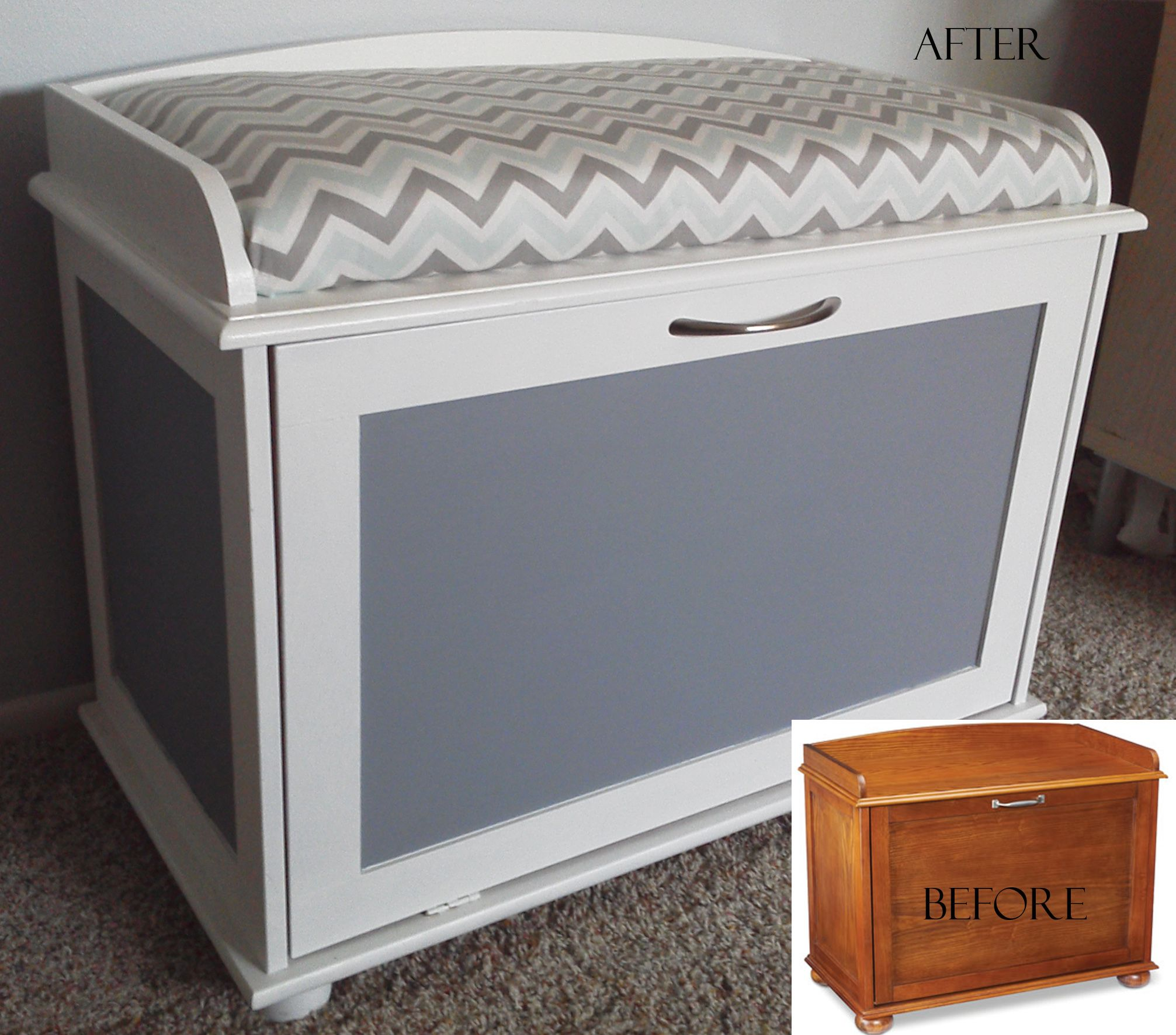 Bought This Shoe Cabinet At Menards Painted It Changed