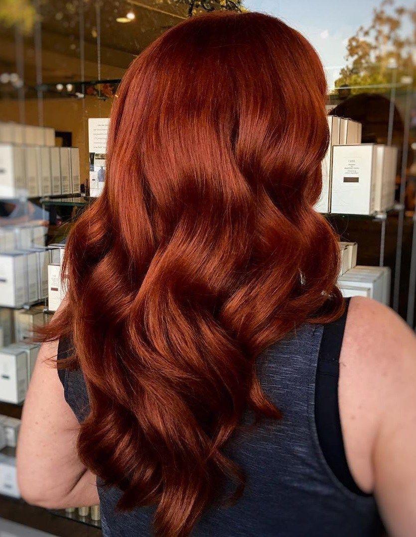 long+auburn+subtle+ombre+hair   Auburn red hair, Dark auburn hair ...