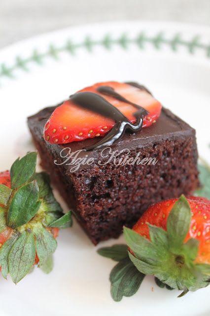 Azie Kitchen Best Moist Chocolate Cake Ever Lagi