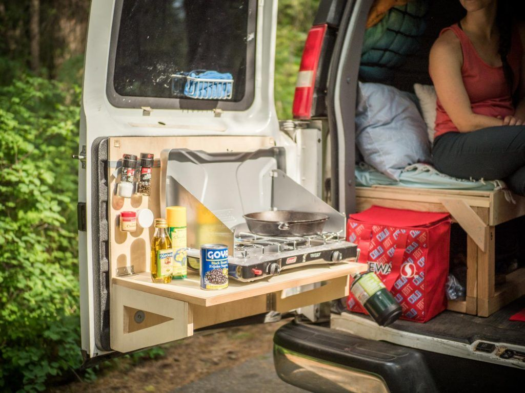 Photo of How to Build Your Van's Kitchen & Storage System   REI Co-op Journal #an life …