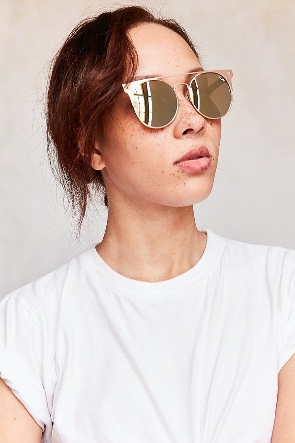 Quay The In Crowd Round Sunglasses | #Chic Only #Glamour Always