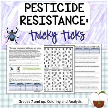 Evolution Pesticide Resistance Natural Selection Teaching