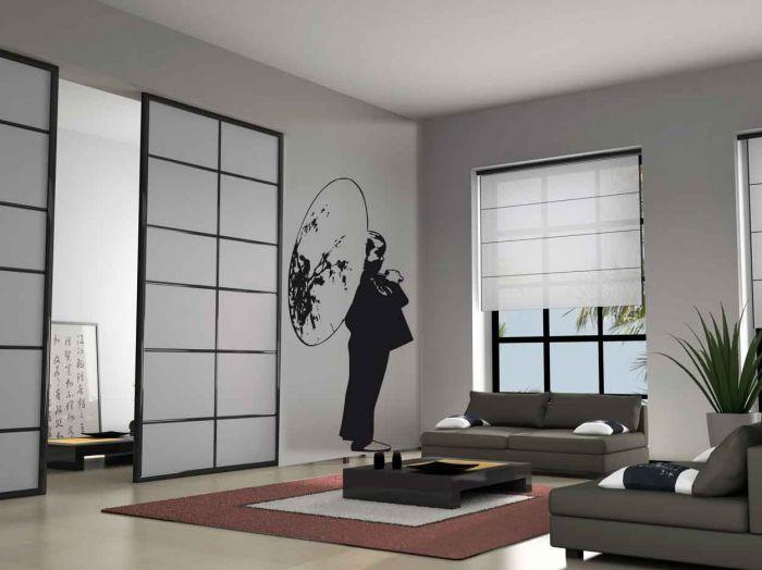 Amazing Decoration Japonaise Pour Chambre #6: Intérieur Japonais Décoration | Déco Japonnaise Pour Un Style épuré Et  Tendance | Décoration .