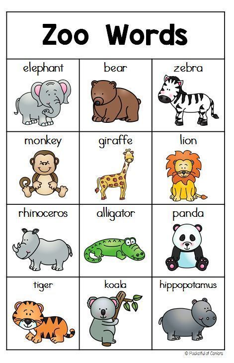 動物園ライティングセンター | Zoo preschool, Zoo animals preschool, Zoo ...