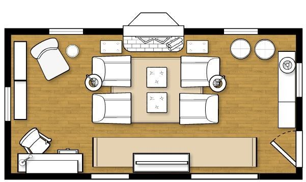 Living Room Layout For My New Home How To Decorate Livingroom Layout Living Room Furniture Layout Rectangular Living Rooms