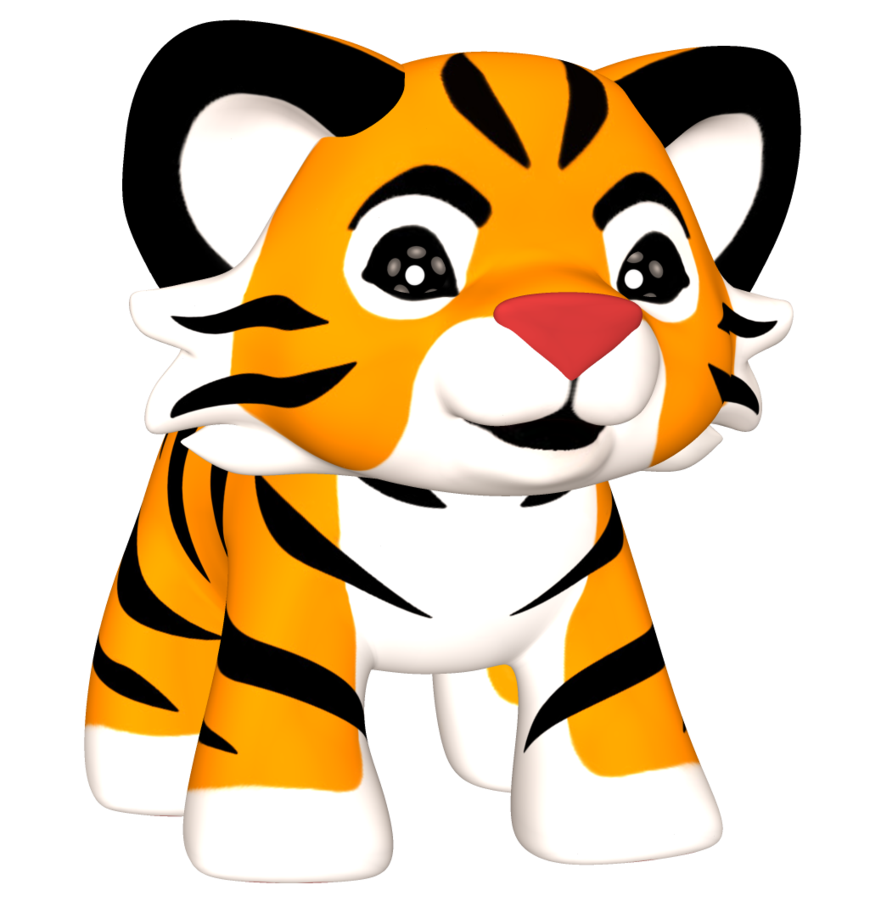 Png Tiger Animal Canvas Animal Clipart Cute Tiger Cubs