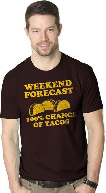 6374062481 Food Shirt Men, Funny Taco Shirt, Taco Tuesday, Mexican Party Shirt, Funny  Mens Taco Shirt, Weekend