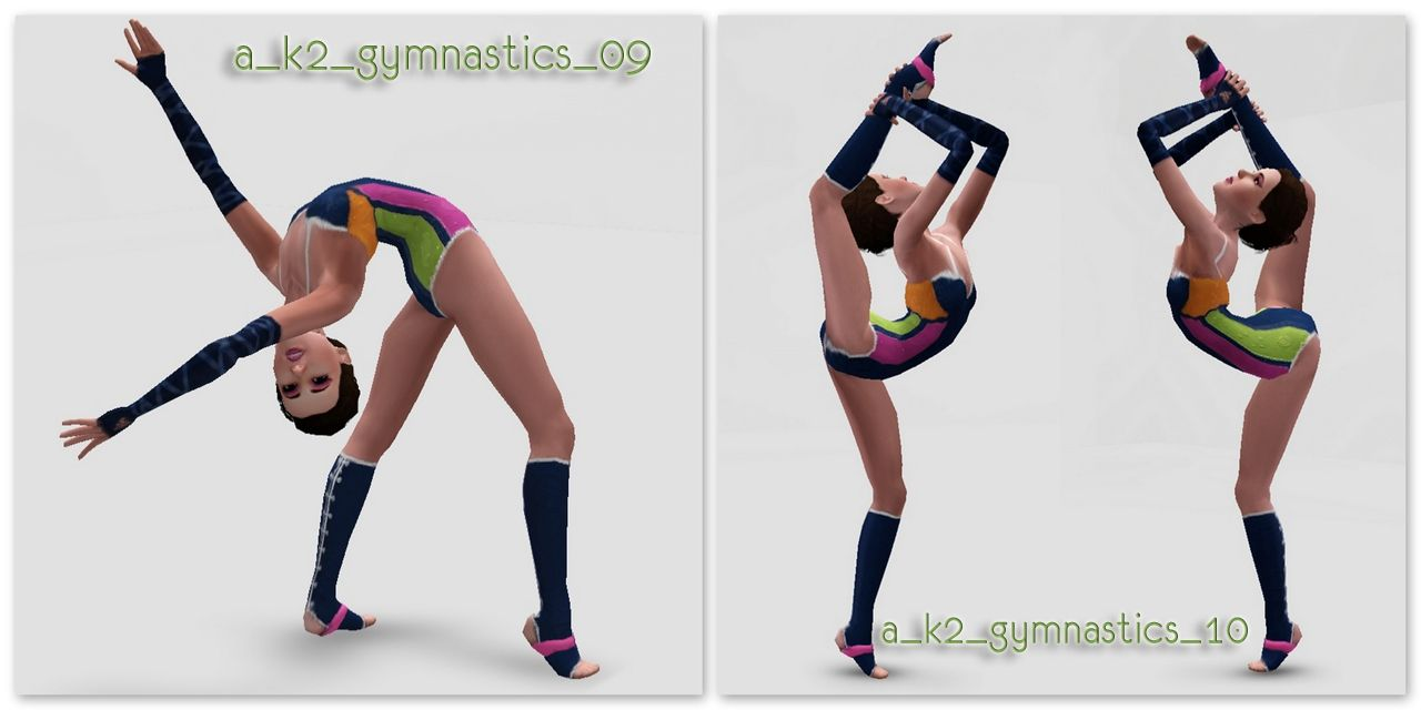 22++ Gymnastic poses information