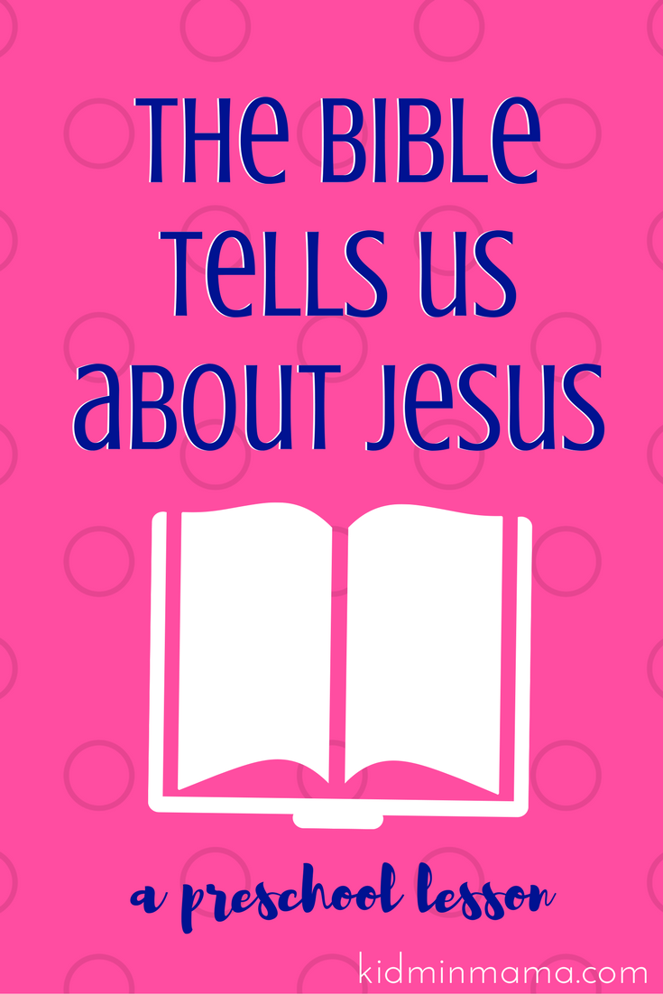 Preschool Lesson: The Bible Tells Us About Jesus. Philip and the ...