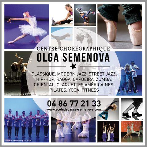 Centre chorégraphique Olga Semenova. www.ecolededanse-semenova.com