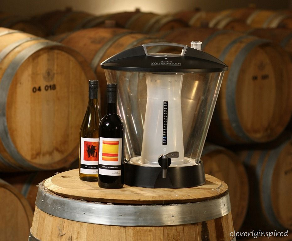 Win a custom wine making system from Artful Winemaker.com @cleverlyinspired