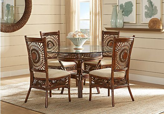 Island Sunrise Brown 5 Pc Dining Set . $499.99. Find affordable ...
