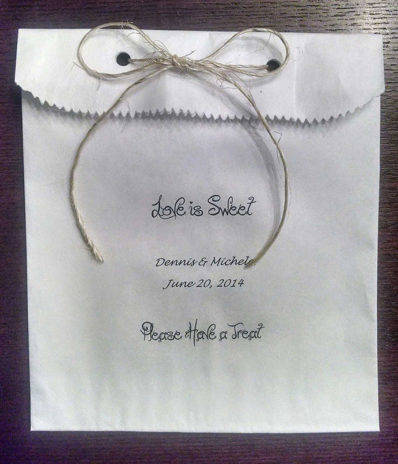 HAND MADE BARN STYLE WEDDING FAVOR INSPIRATION FOR YOUR BARN THEMED ...