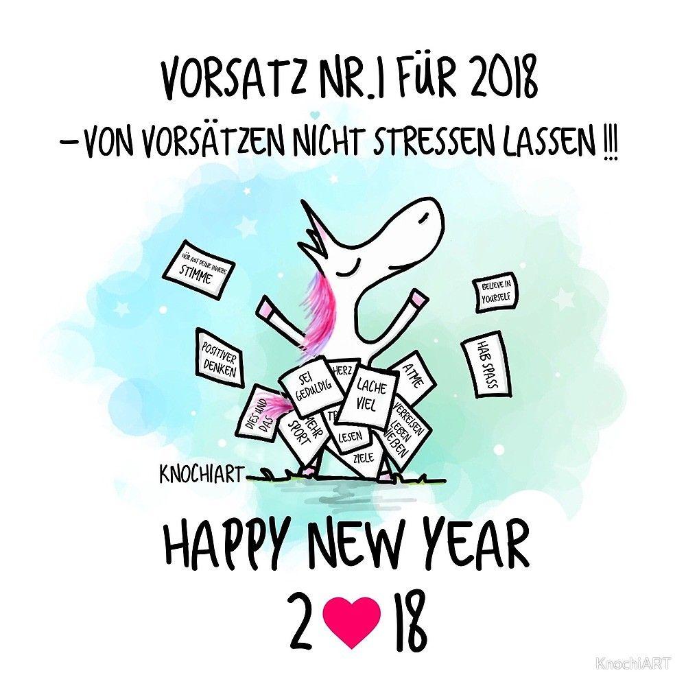 Happy New Year 2018 Knochiart Von Knochiart Wunsche Fur