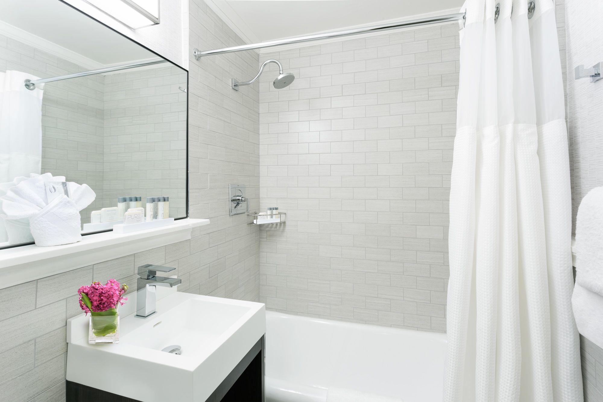 Guestroom Bathroom At Boston Park Plaza Luxury Hotel Stylish Room Hotel