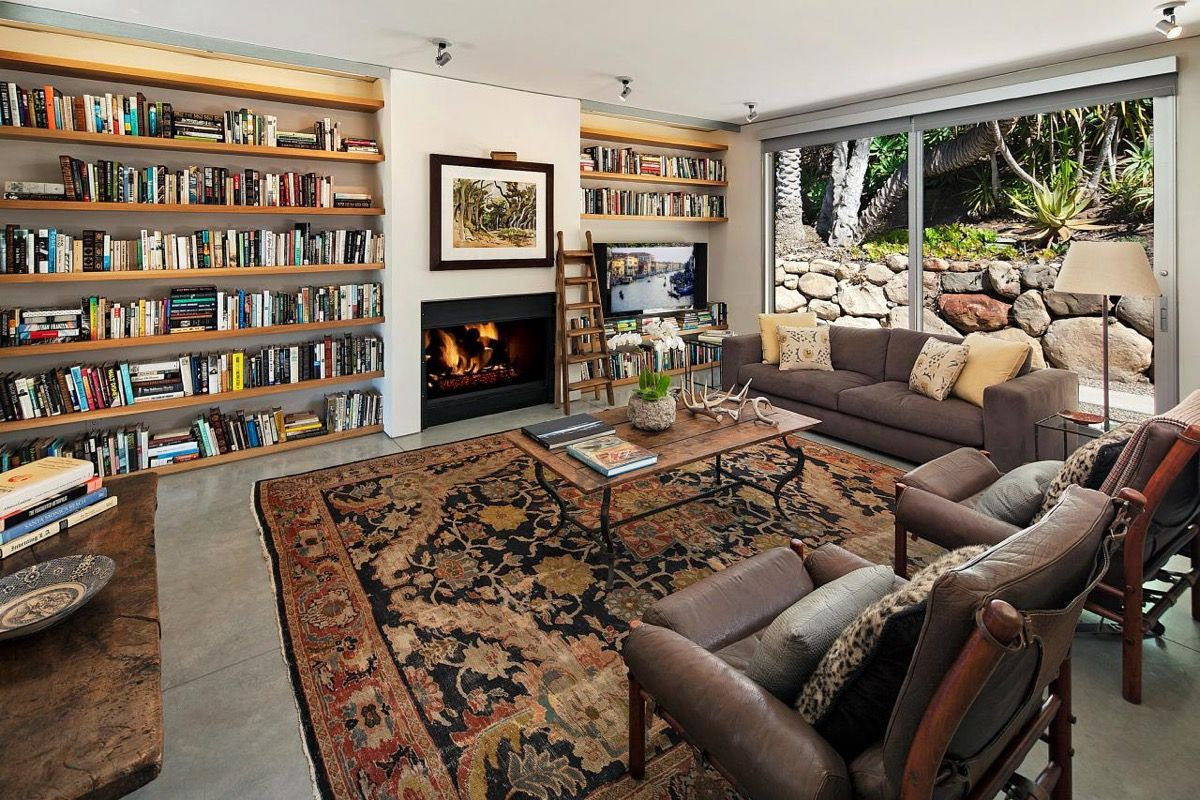 Natalie Portman S Stunning New House By Barton Myers Celebrity Houses Home Indoor Outdoor Living