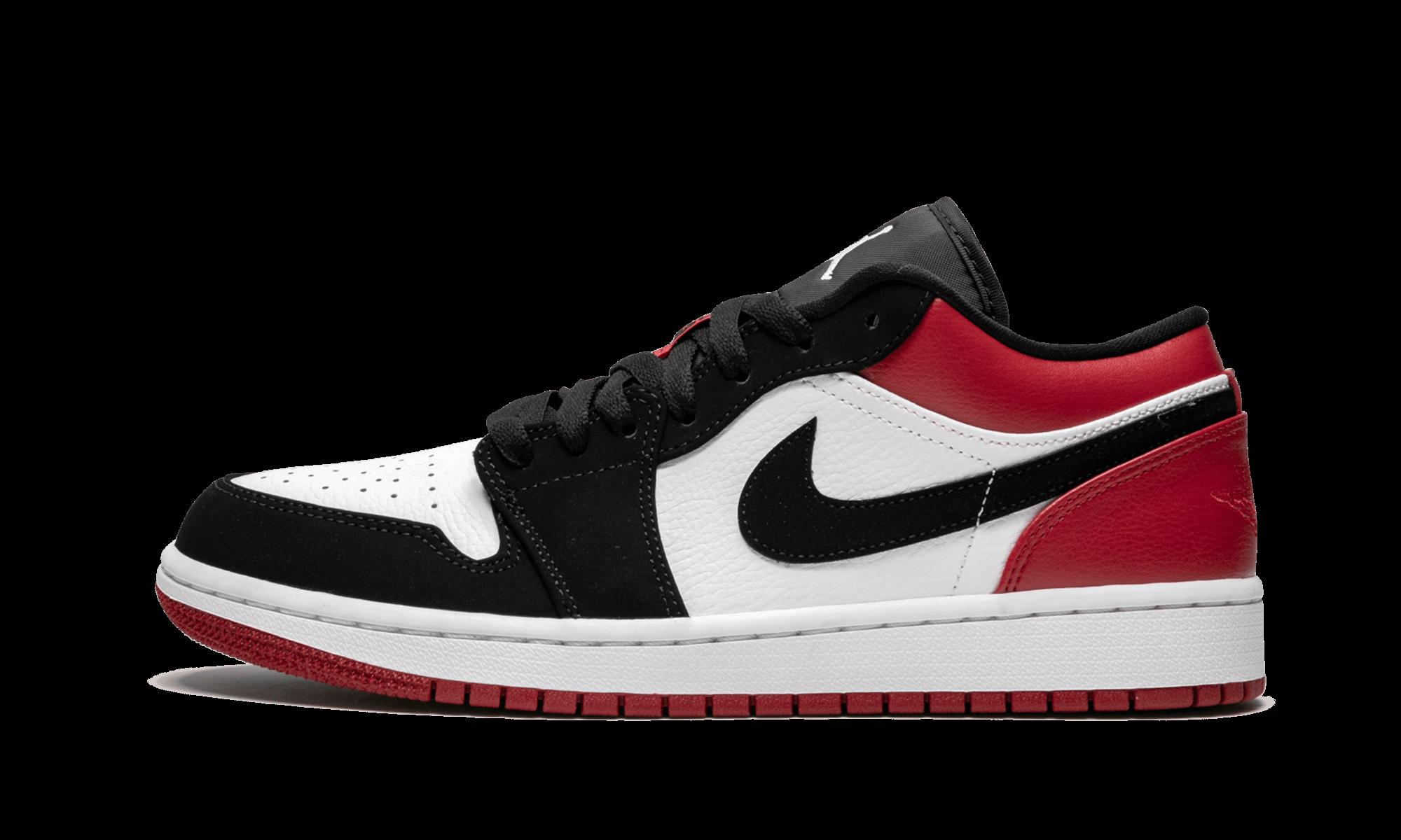 """Air Jordan 1 Low """"Black Toe"""" 553558 116 2019 Air"""