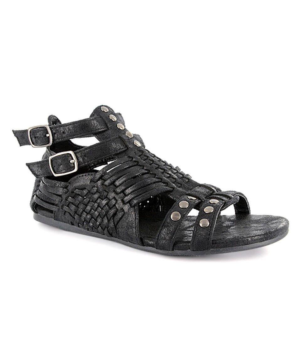 3dbb5393895f Corky s Footwear - Trend-Right Footwear for Kids   Adults. Take a look at  this Corkys Footwear Black Distressed Esperanza Sandal - Women today!