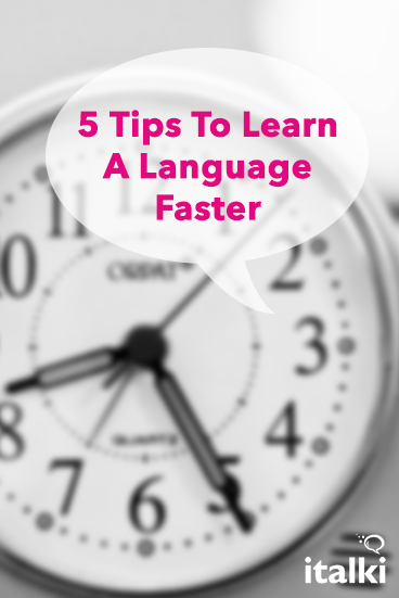 English In Italian: 5 Tips To Learn A Language Faster