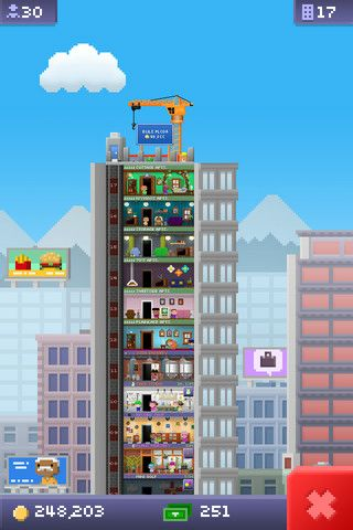 I Bet You Can T Get To 100 Floors In The First Week Tiny Tower Tower Games Kids App