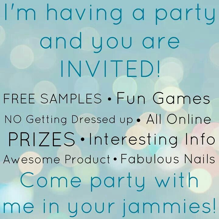 foto de Book a Jamberry Facebook Party with me and earn some FREE