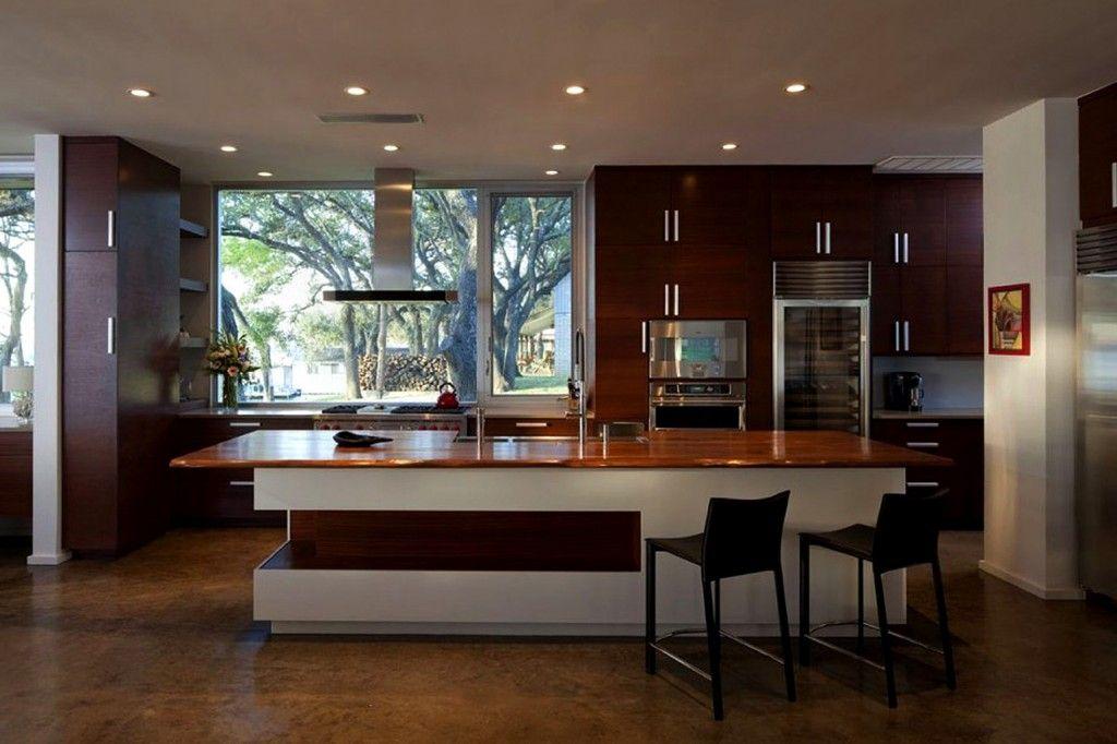 cocina moderna madera Cocina Pinterest