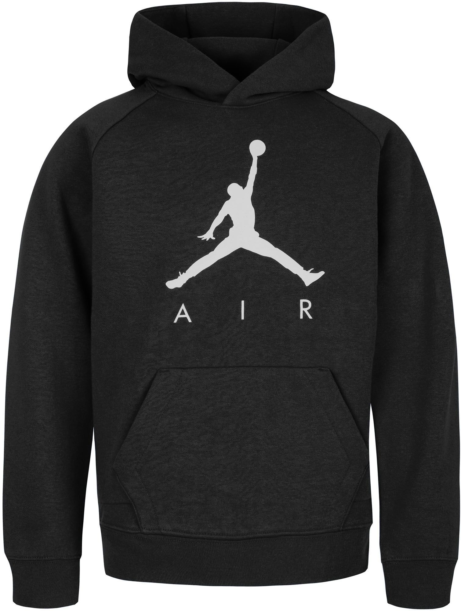 03032dba5b9 Jordan Boys' Fleece Pullover Hoodie, Size: Small, Black in 2019 ...