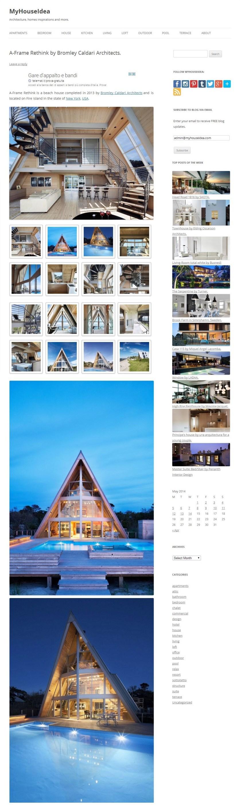 pagina sito