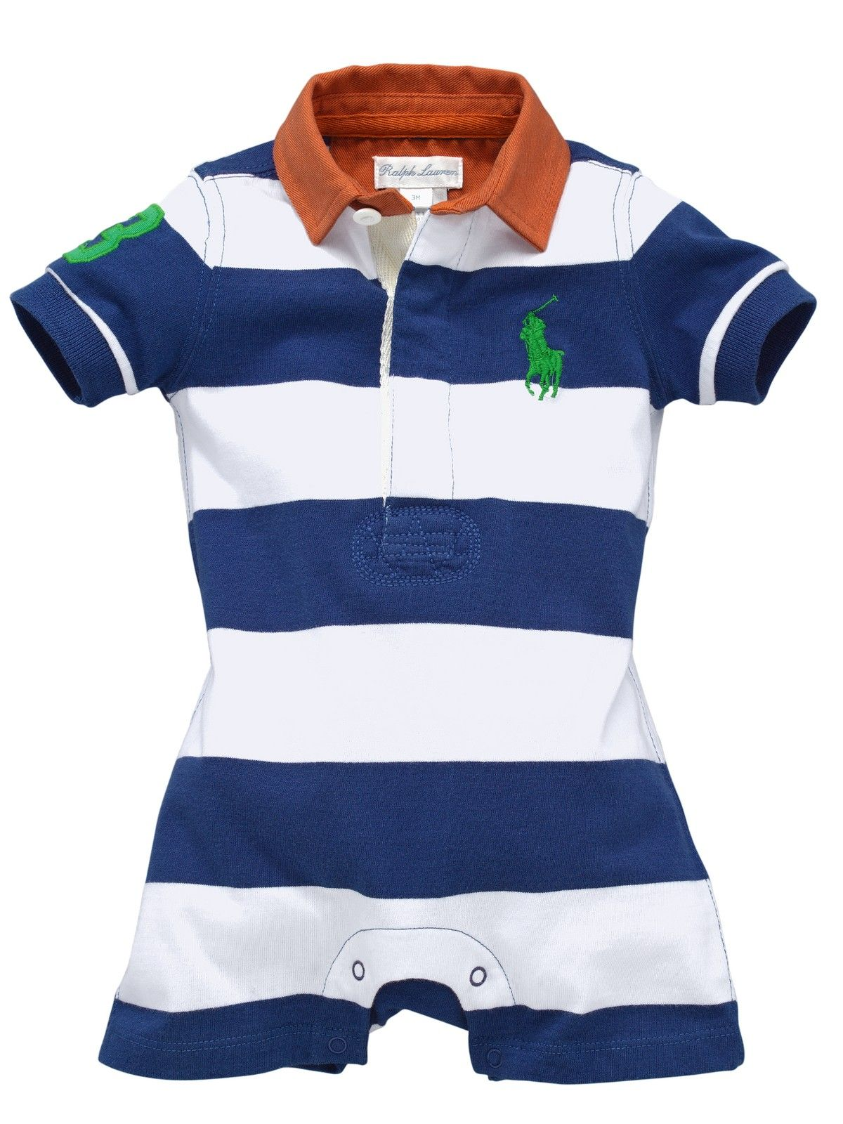 Ralph Lauren Baby Boys Stripe Shortall Very Co Uk Little Prince