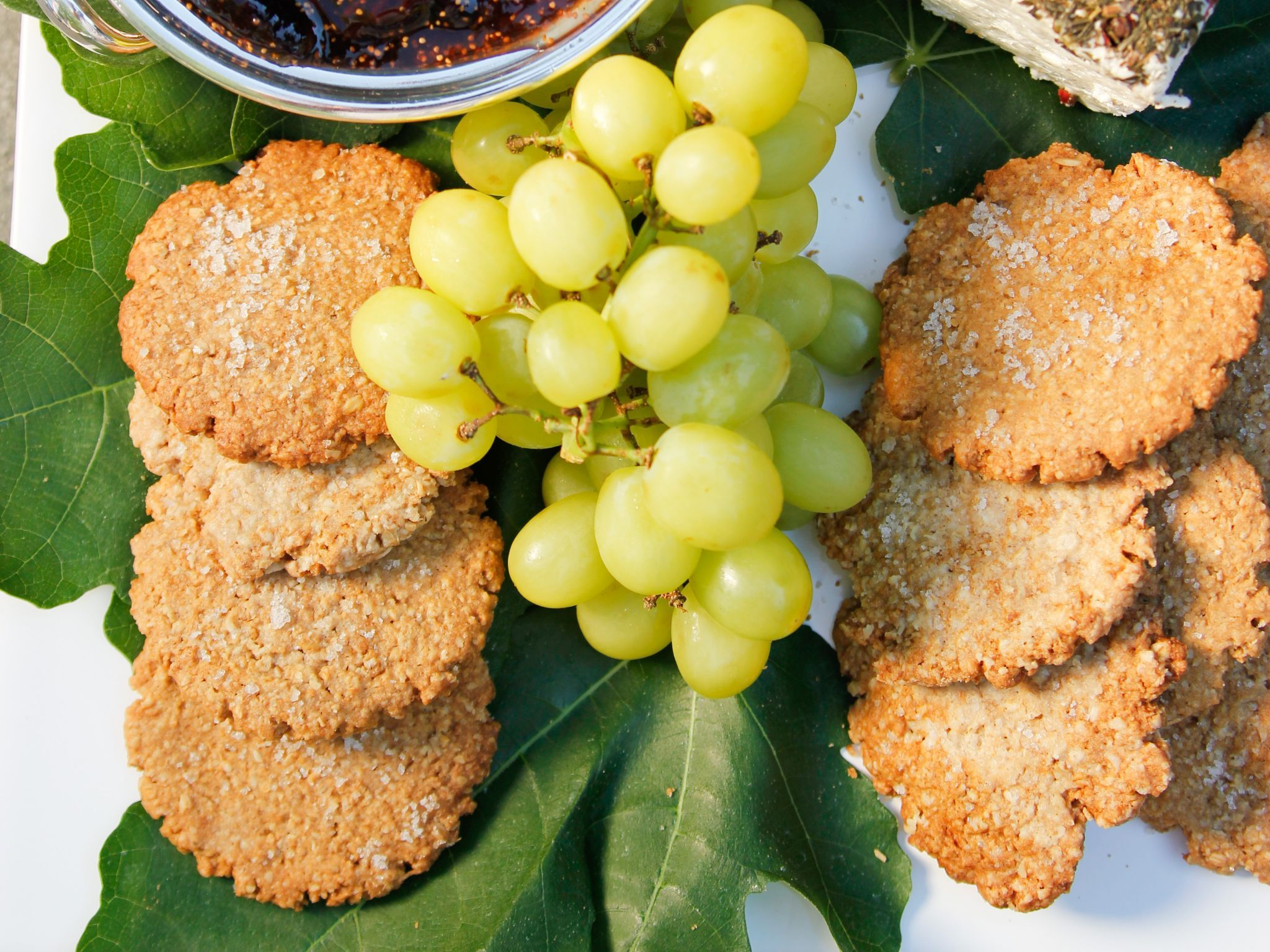 check out english oat crackers it u0027s so easy to make ina garten
