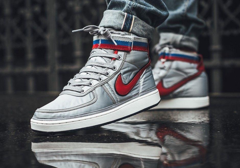 Nike Vandal High Supreme Silver Schuhe