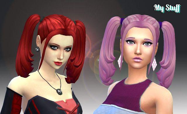 Sims 4 Cc S The Best Hair By Kiara