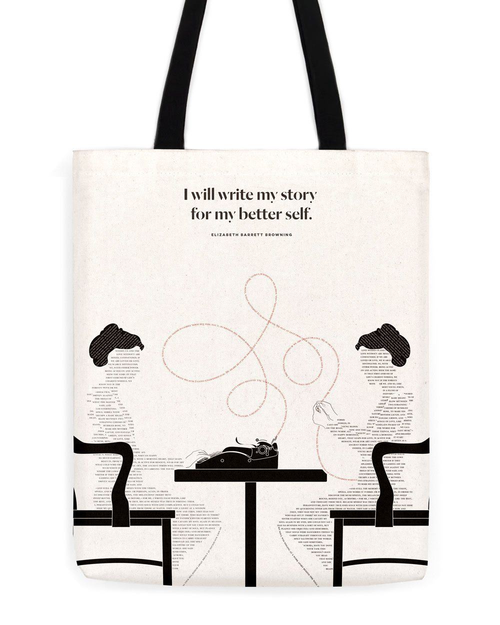 Bookish Tote Bags For Your Favorite Reads  f769834cb1f56